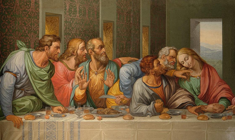 Detail_of_the_Da_Vinci%27s_The_Last_Supper_by_Giacomo_Raffaelli,_Vienna