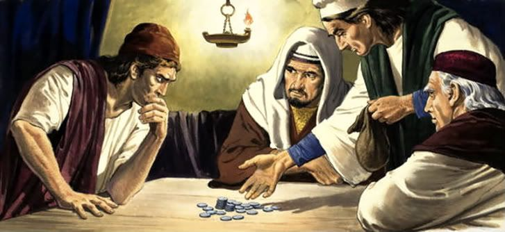 Image result for judas iscariot 30 pieces of silver