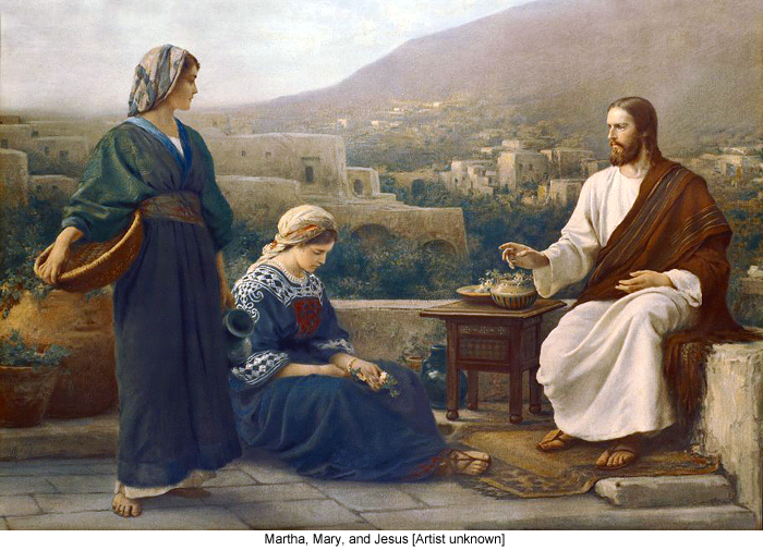Image result for martha mary and lazarus friends of jesus