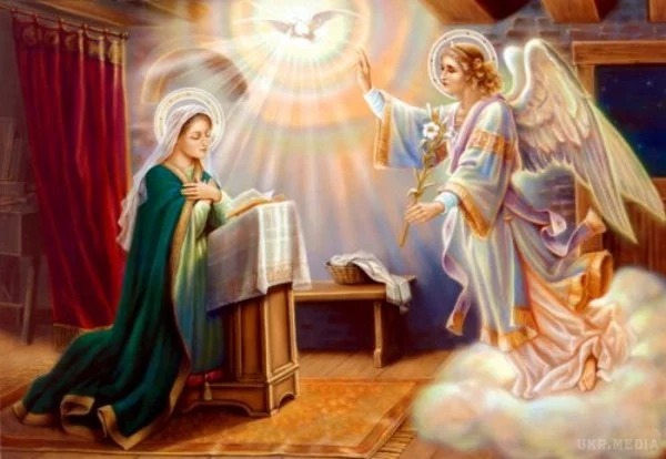 Annunciation is marked on April 7 - Feast of the Annunciation is marked on  April 7 - 112.international